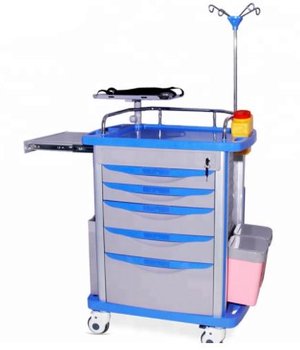 HG-IG-T380 Medical Emergency Trolley