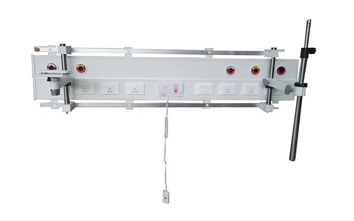 HG-IG-BHU-XX-0P Pierced Series Horizontal Surface Mounted Bed Head Unit